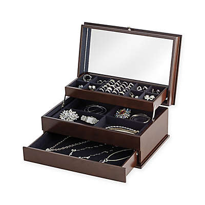 Lori Greiner® Auto-Open Safekeeper Jewelry Box