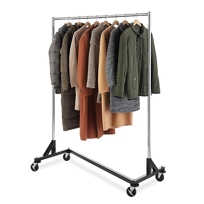 Alternate image 1 for Whitmor Commercial Grade Garment Z-Rack