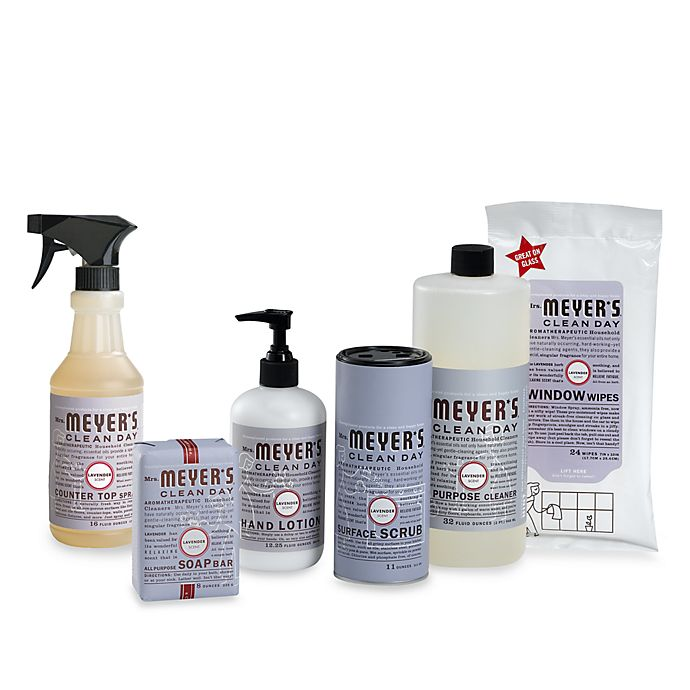 Alternate image 1 for Mrs. Meyer's® Clean Day Aromatherapeutic Lavender Cleaning Products