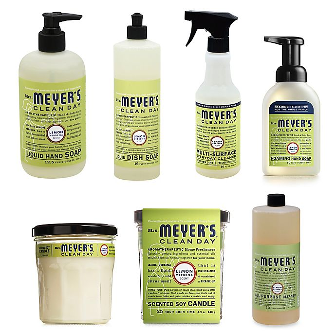 Alternate image 1 for Mrs. Meyer's® Clean Day Therapeutic Lemon Verbena Cleaning Products