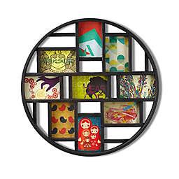 Umbra® Luna 23-Inch Round Photo/Art Display in Black