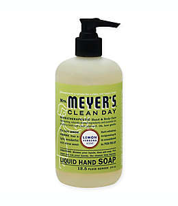 Jabón líquido para manos Mrs. Meyer´s®, de 369 mL, aroma limón y verbena