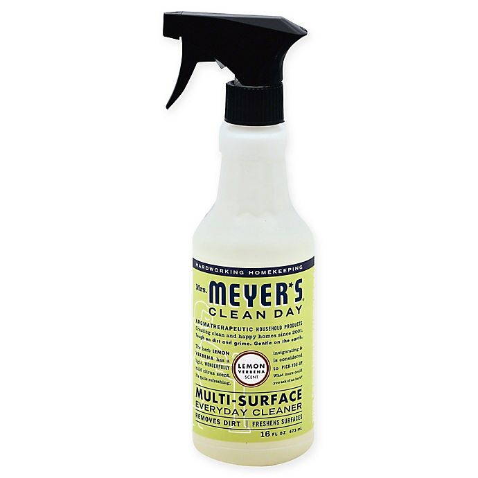 Alternate image 1 for Mrs. Meyer's® Clean Day 16 oz. Aromatherapeutic  Multi-Surface Spray in Lemon Verbena