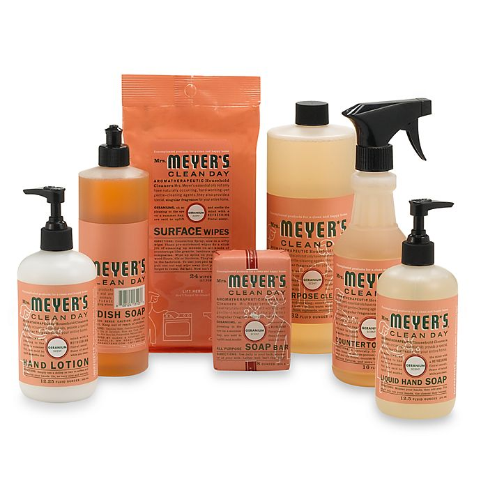 Alternate image 1 for Mrs. Meyer's® Clean Day Aromatherapeutic Geranium Cleaning Products