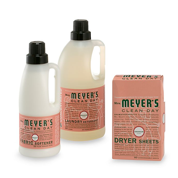 Mrs Meyer S 174 Clean Day Aromatherapeutic Geranium Laundry