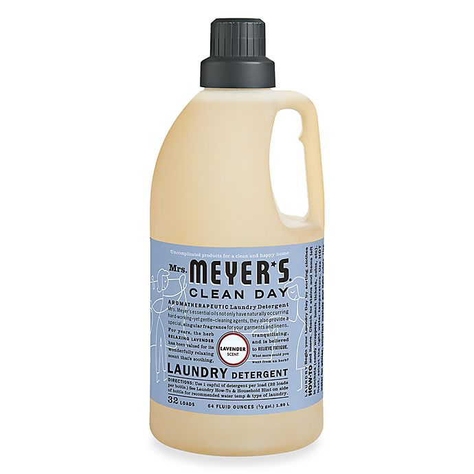 Alternate image 1 for Mrs. Meyer's® Clean Day Aromatherapeutic Lavender 64-Ounce Laundry Detergent