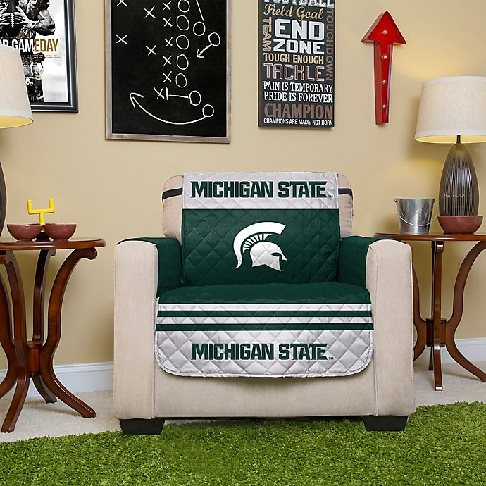 Alternate image 1 for Michigan State University Chair Cover