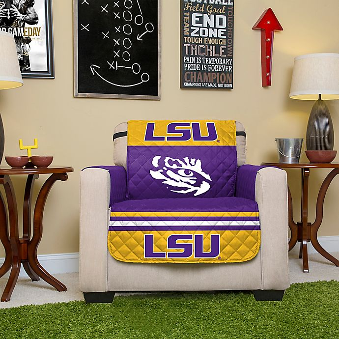 Alternate image 1 for Louisiana State University Chair Cover