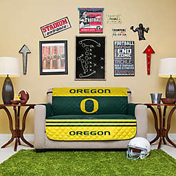 University of Oregon Loveseat Cover