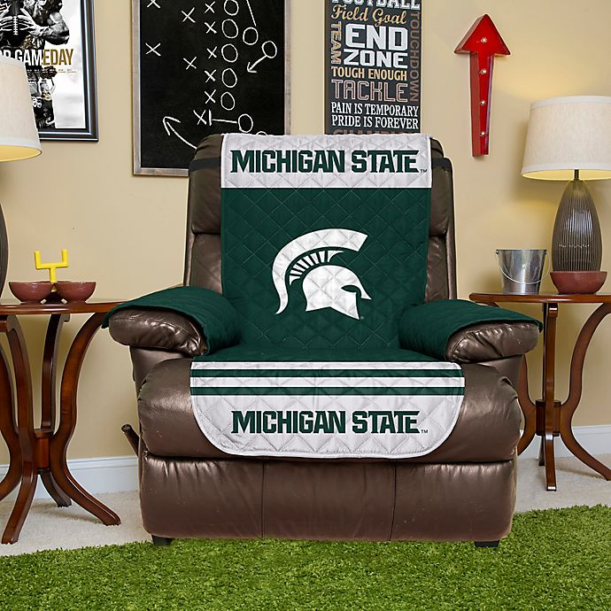 Alternate image 1 for Michigan State University Recliner Cover