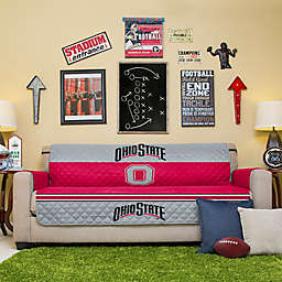 Ohio State University Sofa Cover