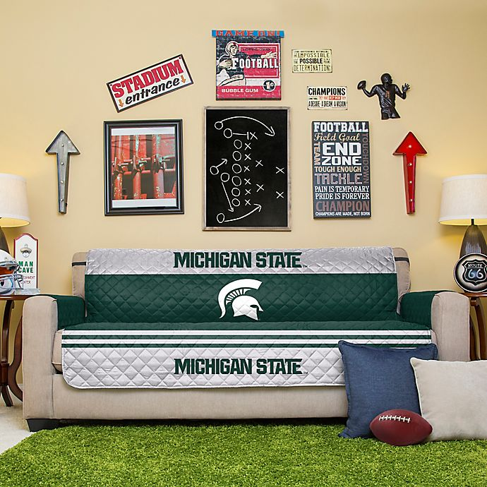Pleasing Michigan State University Sofa Cover Bed Bath Beyond Andrewgaddart Wooden Chair Designs For Living Room Andrewgaddartcom