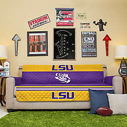 Louisiana State University Sofa Cover