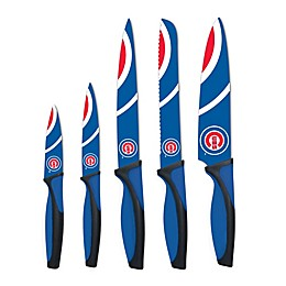 MLB Chicago Cubs 5-Piece Stainless Steel Cutlery Knife Set