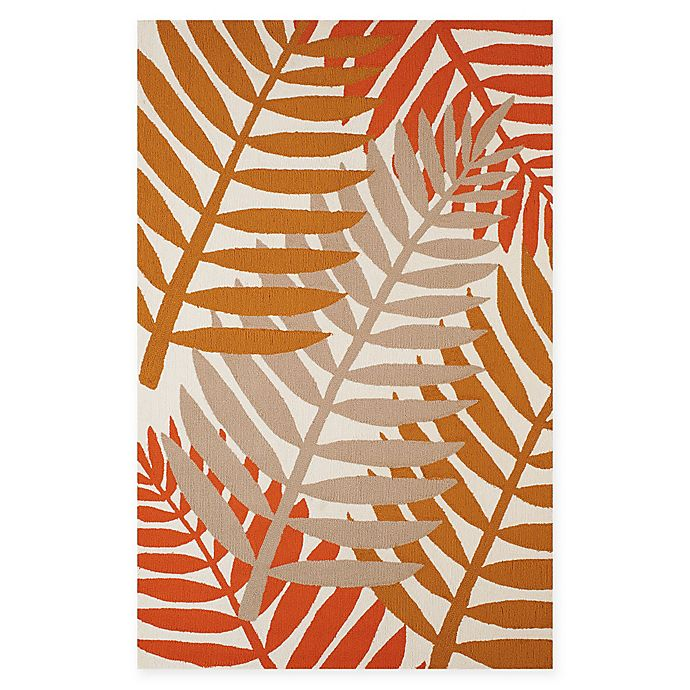Alternate image 1 for Panama Jack Sunset Belt 1-Foot 11-Inch x 3-Foot Indoor/Outdoor Accent Rug in Natural