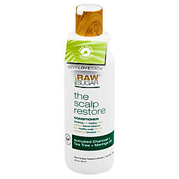 Raw Sugar Scalp Restore 18 oz. Conditioner in Activated Charcoal, Tea Tree, and Moringa Oil