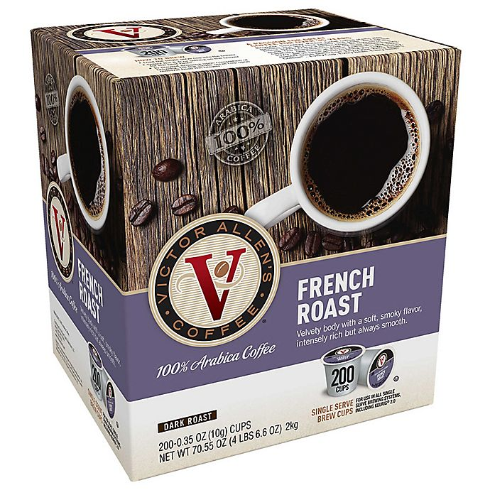 Alternate image 1 for 200-Count Victor Allen® French Roast Coffee Pods for Single Serve Coffee Makers