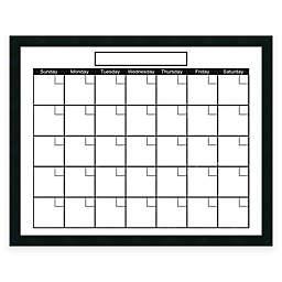 Mezzanotte Dry Erase Calendar In White