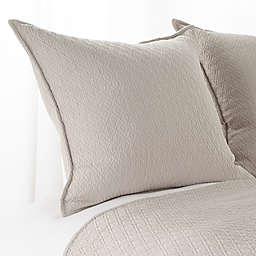 Aura Indi Diamond Matelasse European Pillow Sham