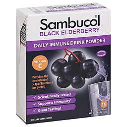 Sambucol® 16-Count Black Elderberry Daily Immune Drink Powder Packs