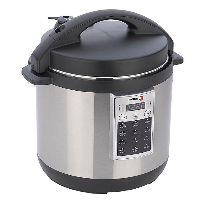 Fagor Premium 8 Qt Electric Pressure Cooker And Rice