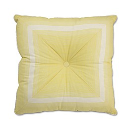 Waverly Paisley Verveine 20-Inch Square Throw Pillow in Spring