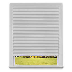 Redi Shade 48-Inch x 72-Inch  Light Filtering Cordless Paper Window Shade in White
