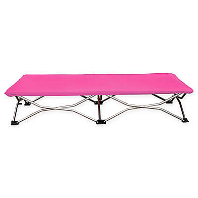 Regalo 47-Inch x 24.5-Inch Portable Folding Toddler Cot in Pink
