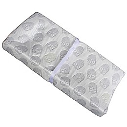 3-Sided Owlet Cloth Contour Changing Pad in White by Colgate Mattress®