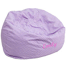 Flash Furniture Personalized Kids Small Bean Bag Chair