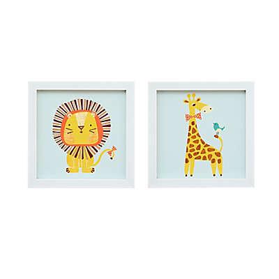 Mi Zone Kids Safari Fun 2-Piece Wall Art