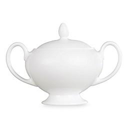 Wedgwood® White Covered Sugar Bowl