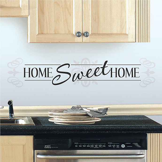 Alternate image 1 for Home Sweet Home Peel and Stick Wall Decals