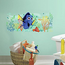 Finding Dory and Nemo Peel and Stick Giant Wall Decal
