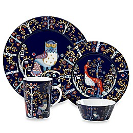 Iittala Taika Dinnerware Collection in Blue