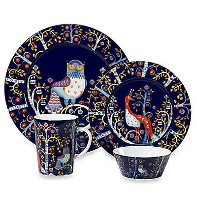Iittala Taika Dinnerware Collection in Blue