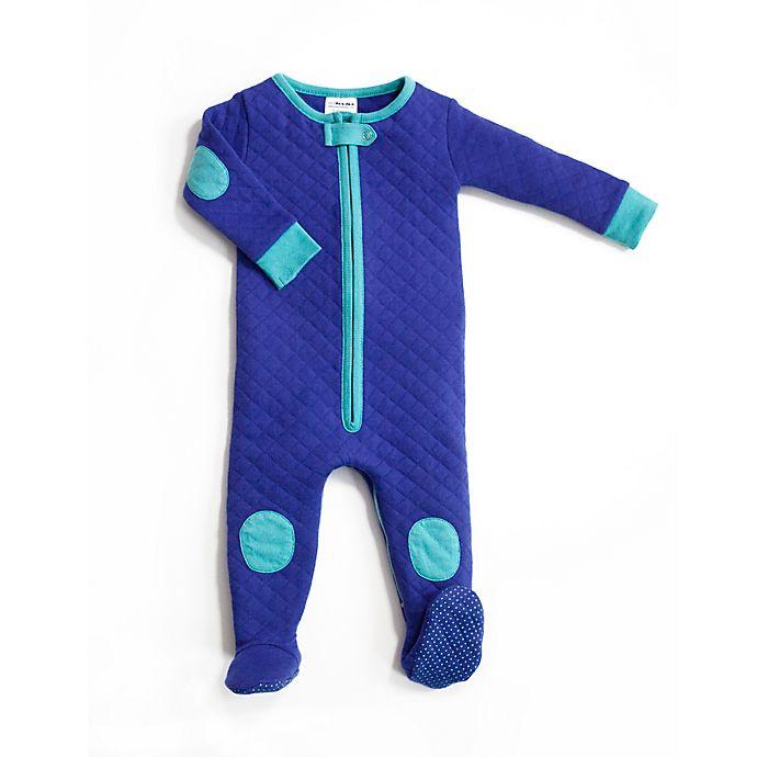 Alternate image 1 for Baby Deedee® Size 12-18M Quilted Sleepsie in Peacock