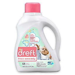 Dreft Stage 2: Active Baby 100 oz. HEC Liquid Detergent