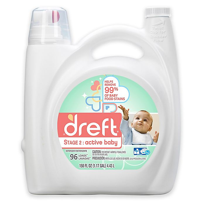 Alternate image 1 for Dreft Stage 2: Active Baby 150 oz. HEC Liquid Detergent