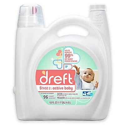 Dreft Stage 2: Active Baby 150 oz. HEC Liquid Detergent
