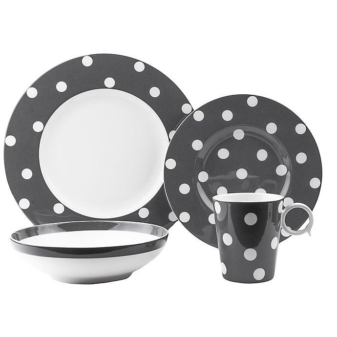 Alternate image 1 for Freshness Dots 8-Piece Dinnerware Set