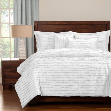 Buy Tattered Twin Duvet Cover Set With Comforter Insert In