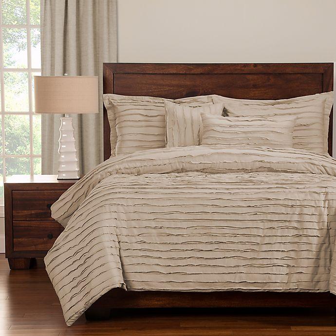 Alternate image 1 for Tattered Duvet Cover Set with Comforter Insert