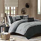 Madison Park Boone 7-Piece Comforter Set in Grey
