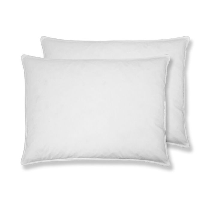 Duck Feather /& Down Standard Pillow Cotton Cover Soft Luxury set Pack of 1,2 /& 4