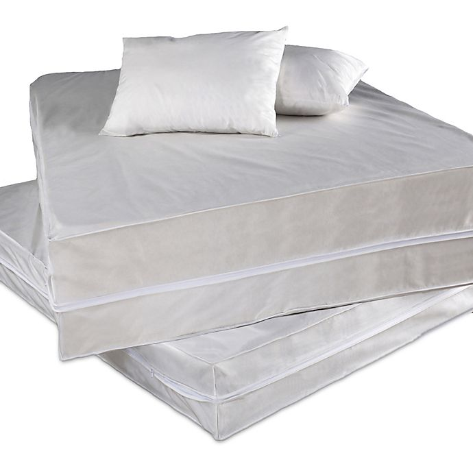 Alternate image 1 for Everfresh Bed Bug and Water Resistant Queen Bed Protector Set