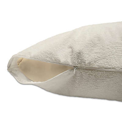 dreamSERENE® Smooth Sleep Terry Pillow Protector
