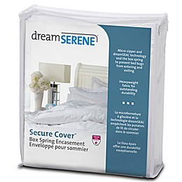 dreamSERENE® Secure Sleep Box Spring Protector