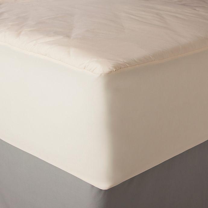 Alternate image 1 for AllerEase Queen Naturals Organic Cotton Waterproof Mattress Pad
