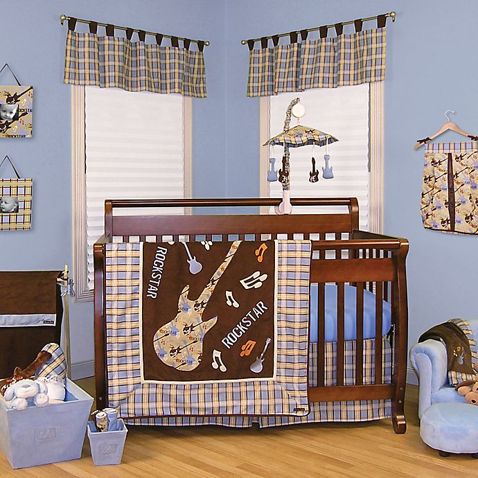 Trend Lab 174 Rockstar Crib Bedding Nursery Collection